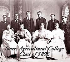 Storrs Agricultural College Class of 1896